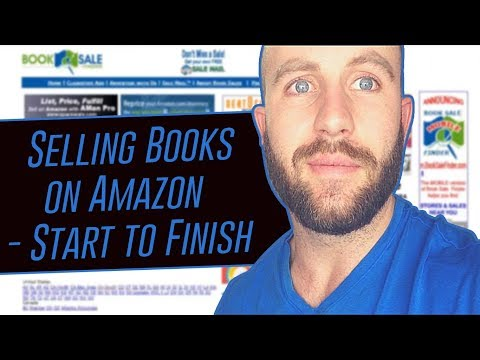 📚➡️💸How To Sell Books on Amazon FBA 101 - 3K -5K Per Month With Little Startup Cash