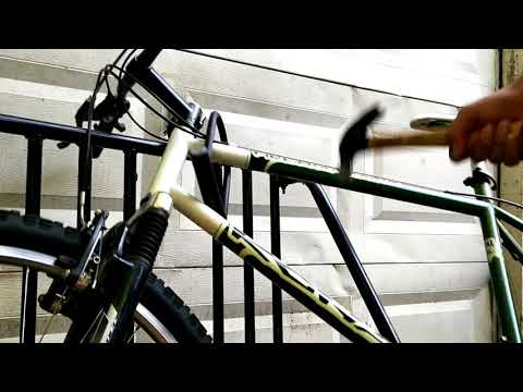 CHEAPEST WAY TO BREAK A BICYCLE U-LOCK
