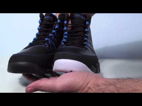 Comparison: Black Bottom vs. White Bottom Air Jordan 9 (IX) Photo Blue