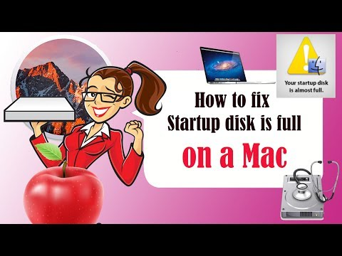  Mac Startup Disk Full - How to Free Up Space - 2016