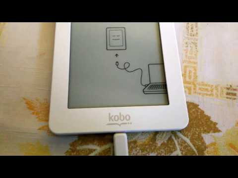 How to put your books into a Kobo Mini 5