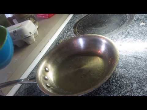 How to use an All Clad or Calphalon stainless steel pan to make it like using Teflon