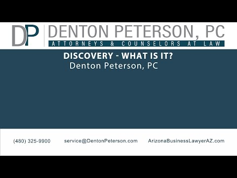 Discovery - What is it?