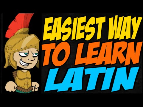 Easiest Way to Learn Latin