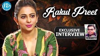 Rakul Preet Exclusive Interview || Talking Movies with iDream # 154