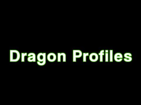 How to Create and Manage a Dragon Naturally Speaking Profile