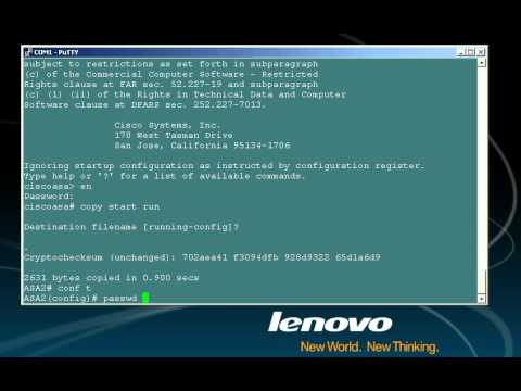 CCSP Lab - Cisco ASA Password Recovery Process