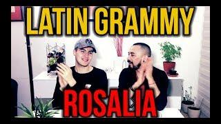 ROSALÍA - A Palé / Con Altura (Live At Latin GRAMMY) | #Reacción Osko & Poker Man