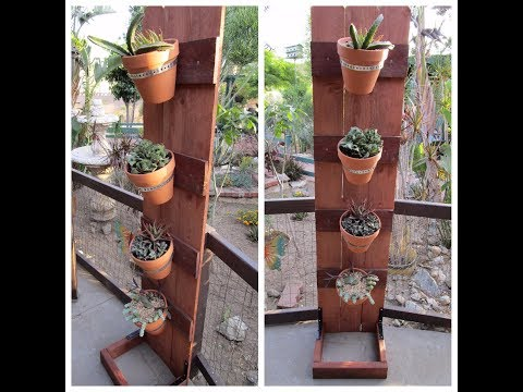 How to build a  plant tower DIY