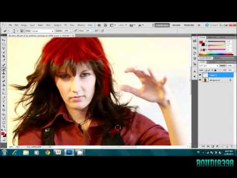 how to change hair color in photoshop cs5