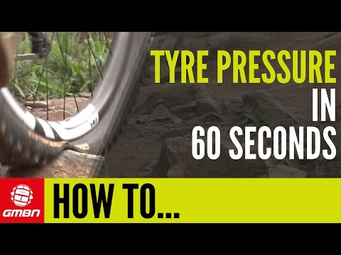 How To Set MTB Tyre Pressure In 60 Seconds