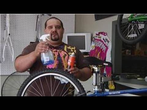 Bicycle Equipment : How to Clean Mountain Bikes