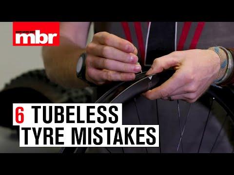 6 Tubeless Tyre Mistakes | Mountain Bike Rider