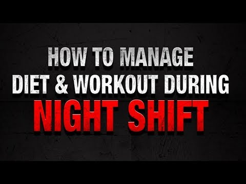 Best Time to Workout for People working Night Shifts