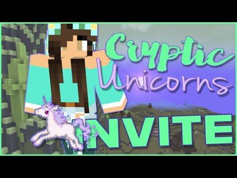 Minecraft | CrypticUnicorns | Modded Server Invitation!