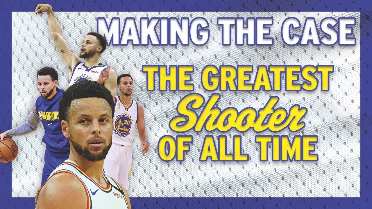 Steph Curry is the Greatest Shooter of All Time