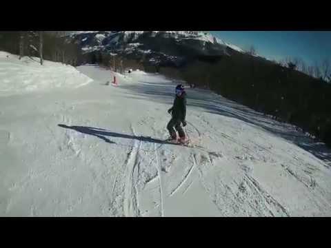 Review Sj5000+ plus FULL HD 60fps TEST on ski SJCAM gopro