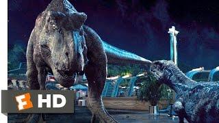 Jurassic World (2015) - Dinosaur Alliance Scene (10/10) | Movieclips