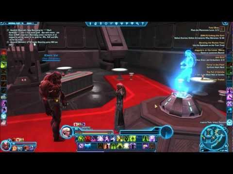 SWTOR Dresses, Dyes and Dancing