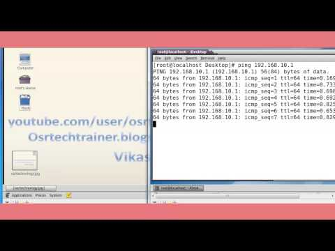 how to configure ssh in redhat linux 6 in hindi by vikas madan