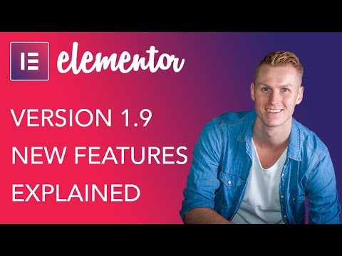 Elementor 1.9 Update | New Features Explained
