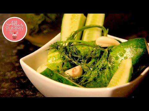How to Pickle Gherkins, Pickled Cucumber Recipe - Быстрые малосольные огурцы