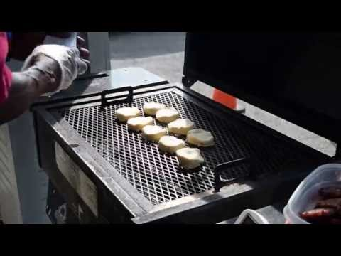Holland Grill Demo Pt. 1 (Sausage Biscuits on the Holland)
