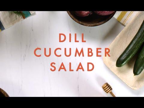 Dill Cucumber Salad - FIXATE™