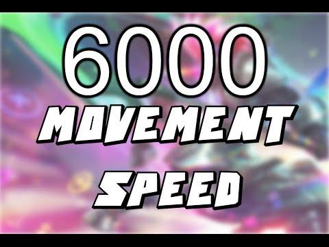 6000 MOVEMENT SPEED