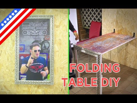How to make an easy DIY folding table for your home - ep03 - Roland Master Maker