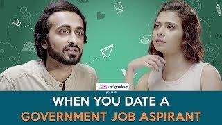 When You Date A Government Job Aspirant | Ft. Abhinav (Bade) & Shreya Gupto | RVCJ
