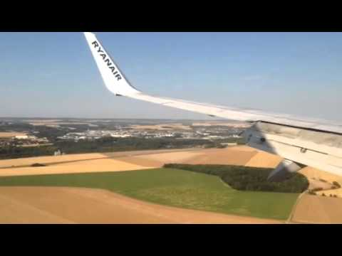 Paris Beauvais Airport leszállás / landing 2015.08.07