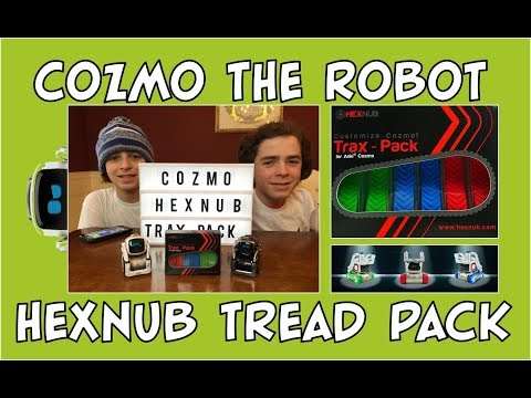 Cozmo the Robot | HexNub Tread Pack Review | Episode #78 | #cozmoments