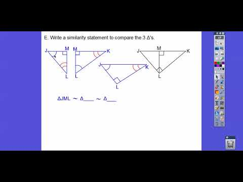 Review of Module 17 - Using Similar Triangles (IM2)