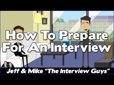Job Interview Tips - How to Prepare For a Job Interview