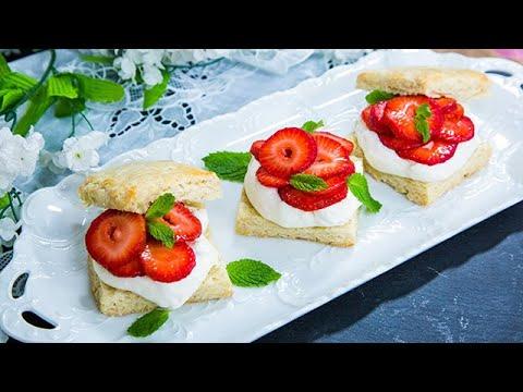 Tieghan Gerard's Strawberry Shortcake - Home & Family