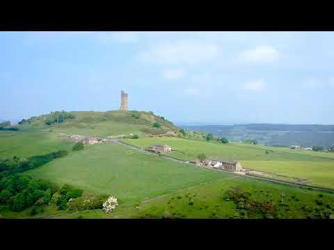 Huddersfield Castle Hill - Areal footage 2018