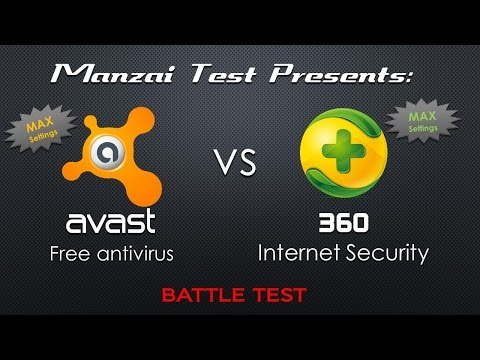 [Battle Test] Qihoo 360 Internet Security VS Avast Free 2015 RC3