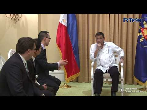 Courtesy Call of Mr. Clarence Chung and Mr. Lawrence Ho 1/11/2018