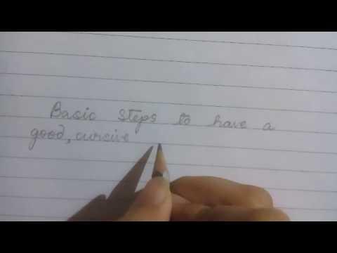 Neat handwriting basics for childrens