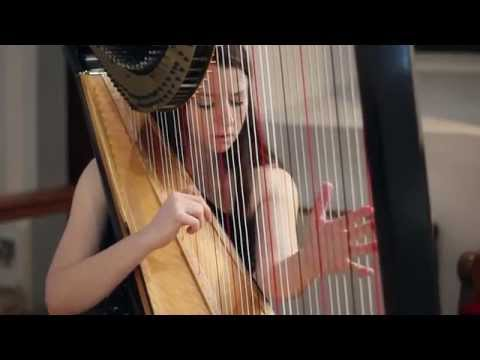 J.S. Bach - Toccata and Fugue in D Minor BWV 565 // Amy Turk, Harp
