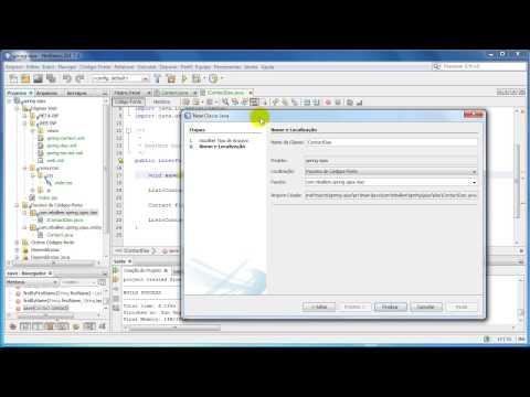 Spring MVC & Ajax JQuery - Parte 2 (Entity, DAO, Controller)