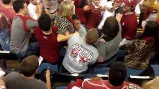 Bama fan goes crazy on OU student