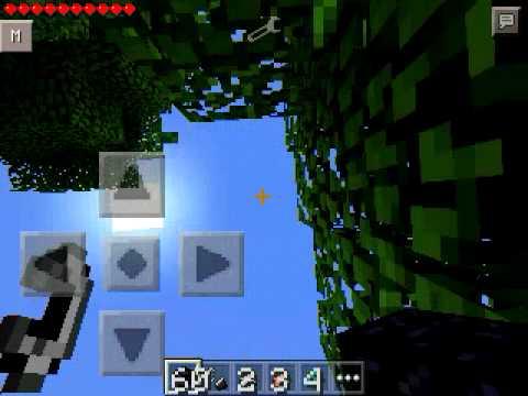 Minecraft PE 0.10.5 nether portal mod