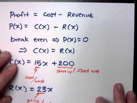College Algebra - Part 91 (Applications)