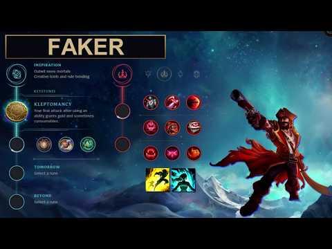 SKT Faker Build Gangplank - New Runes Season 8 solo vs Kassadin (League of Legends Guide)