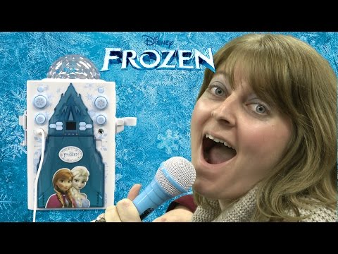 Disney Frozen Magical Ice Palace Karaoke from Sakar International