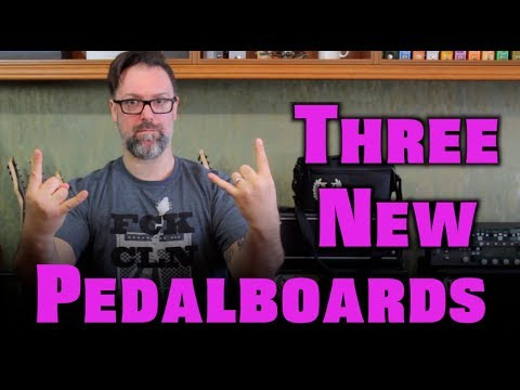 Set Up My New Pedal Boards With Me