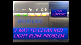 EPSON L805 ink pad count resetter Adjustment Program