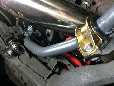 DIY: Progress Rear Sway Bar Install Part 1: Remove Stock Bar